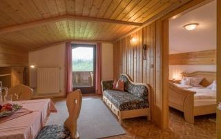 Ferienwohnung 1- Wohnzimmer