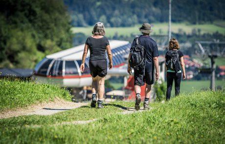 Erlebnisberg Oberaudorf Hocheck Wanderer