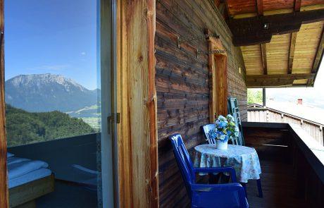 Ferienwohnung Luegsteinsee - Balkon