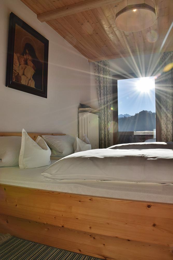 Ferienwohnung 4 - Schlafzimmer