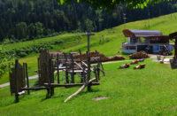 Spielplatz an der Bergbahn Hocheck